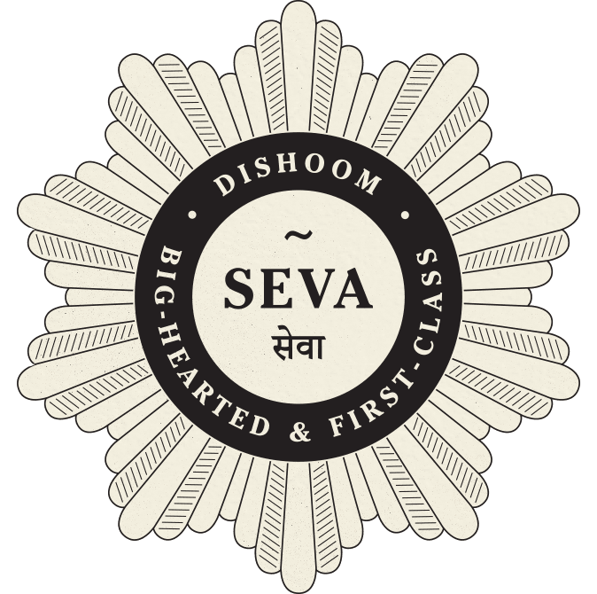 Seva badge - Big Hearted & First Class